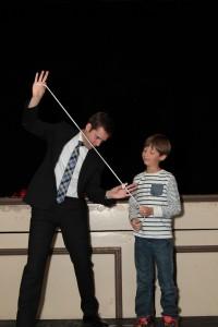 Performing a magic trick
