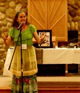 Karen Golden's storytelling Saturday eve
